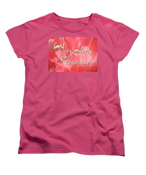 Spiritual Love Women's T-Shirt (Standard Cut)