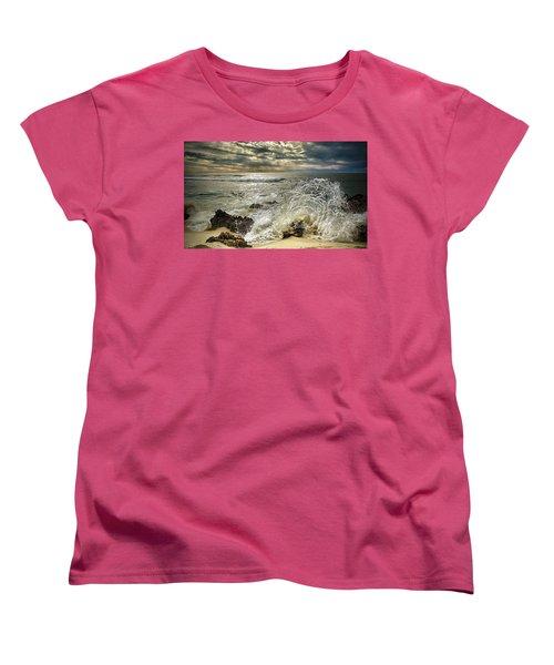 Splash N Sunrays Women's T-Shirt (Standard Cut) by Kym Clarke