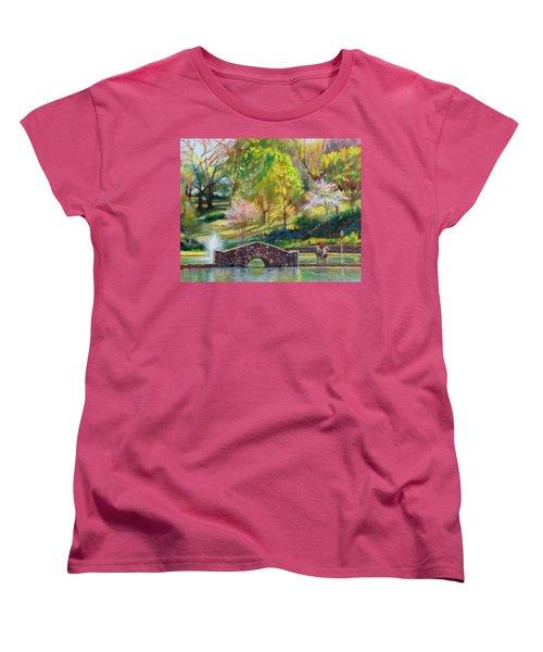 Spring Morning Women's T-Shirt (Standard Cut) by Bonnie Mason