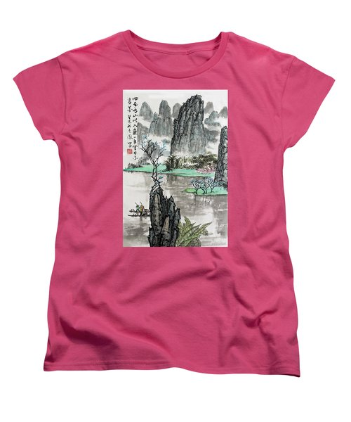 Spring River II Women's T-Shirt (Standard Cut) by Yufeng Wang