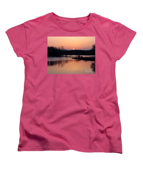 Springtime In Monee Women's T-Shirt (Standard Cut) by Cedric Hampton