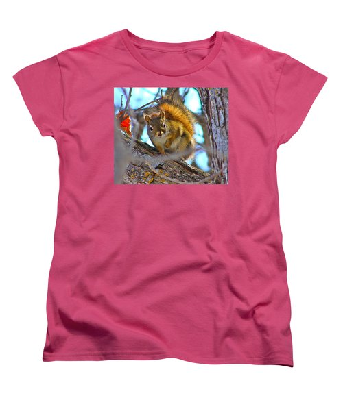 Squirrel Duty. Women's T-Shirt (Standard Cut) by Johanna Bruwer