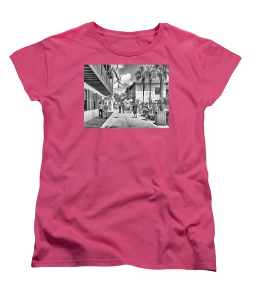 Women's T-Shirt (Standard Cut) featuring the photograph St. Geroge Street by Howard Salmon