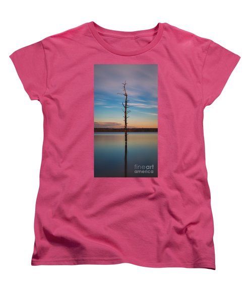 Stand Alone 16x9 Crop Women's T-Shirt (Standard Cut)