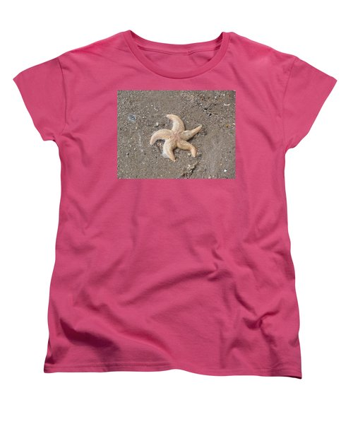 Women's T-Shirt (Standard Cut) featuring the photograph Starfish by Tiffany Erdman