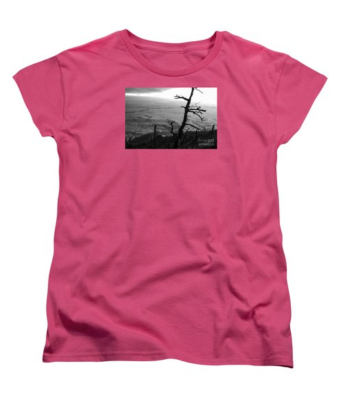 Women's T-Shirt (Standard Cut) featuring the photograph Stark Tree by Mary Carol Story