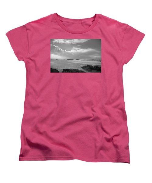 Storm Approaching Women's T-Shirt (Standard Cut) by Roxy Hurtubise