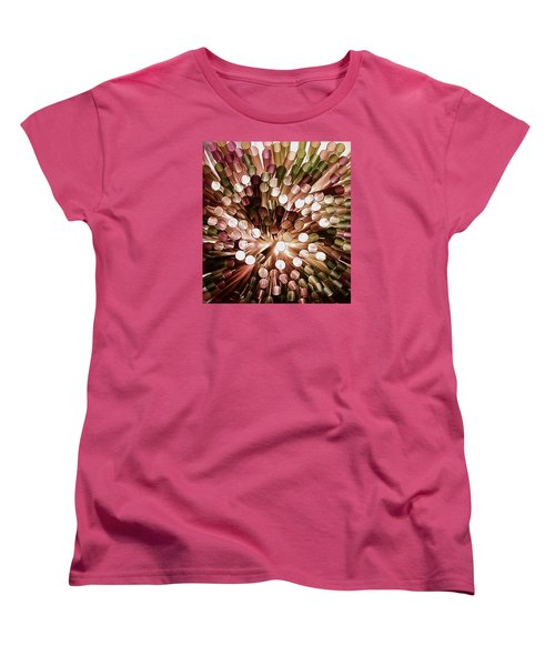 Women's T-Shirt (Standard Cut) featuring the photograph Study The Light Through These  by John King