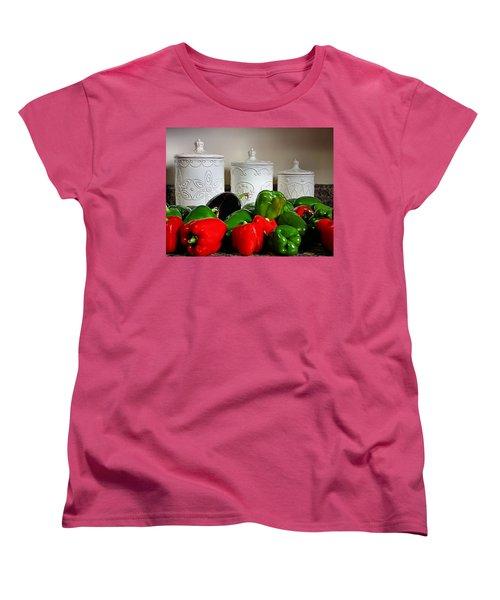 Summer Still Life Women's T-Shirt (Standard Cut) by Kristin Elmquist