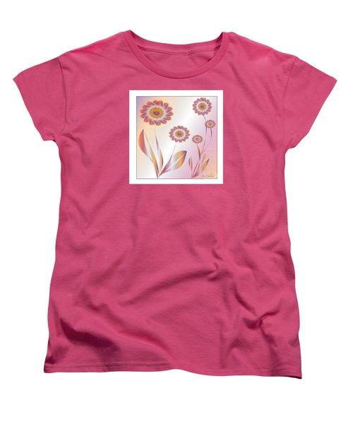Summerwork Duvet Cover And Pillow Women's T-Shirt (Standard Cut) by Iris Gelbart
