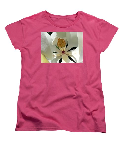 Sunny And Shy Magnolia Women's T-Shirt (Standard Cut)