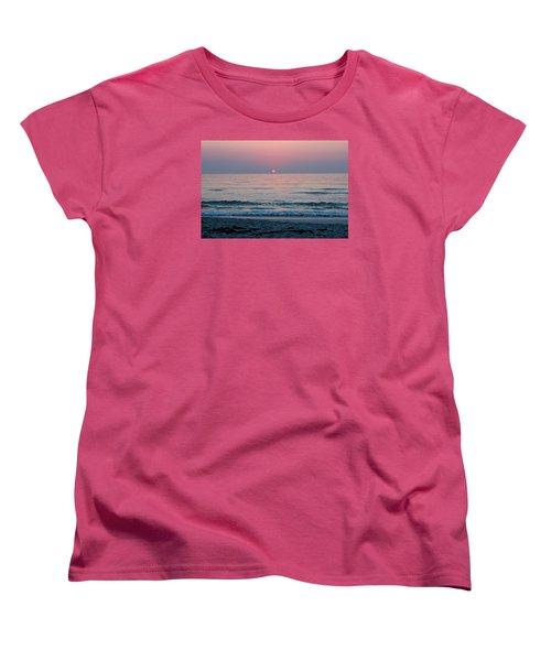 Women's T-Shirt (Standard Cut) featuring the photograph Sunrise Blush by Julie Andel