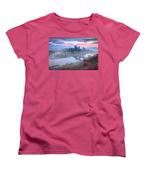Pittsburgh Fall Day Women's T-Shirt (Standard Cut) by Emmanuel Panagiotakis