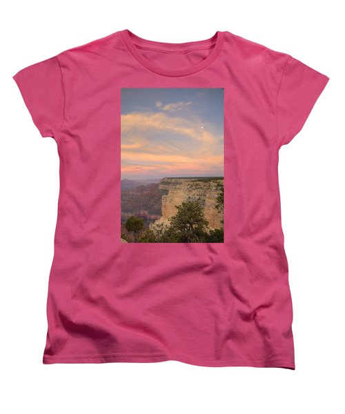 Women's T-Shirt (Standard Cut) featuring the photograph Sunset At Powell Point by Alan Vance Ley