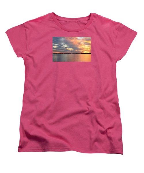 Sunset Magic Women's T-Shirt (Standard Cut) by Cynthia Guinn