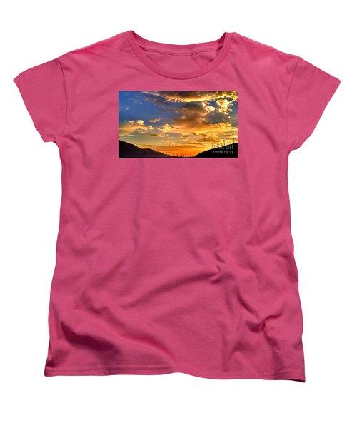 Sunset Over The Pass Women's T-Shirt (Standard Cut)