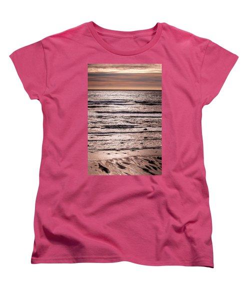 Sunset Ocean Women's T-Shirt (Standard Cut) by Roxy Hurtubise