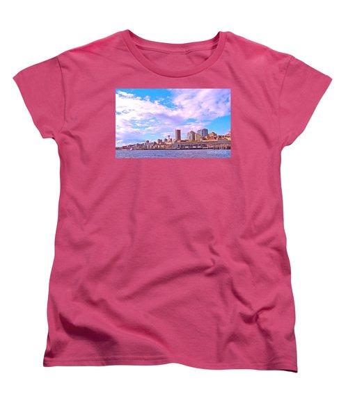 Sweet Seattle Women's T-Shirt (Standard Cut) by Gem S Visionary