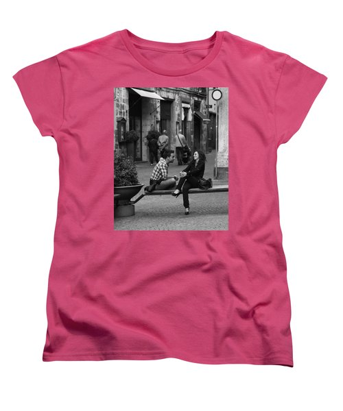 Sweet Youth Women's T-Shirt (Standard Cut) by Hugh Smith