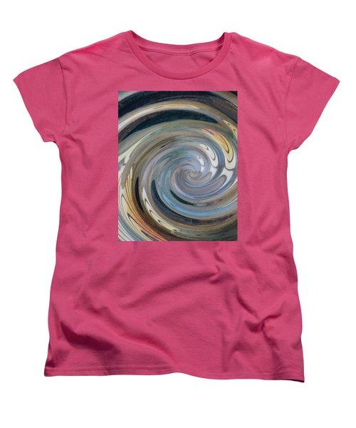 Women's T-Shirt (Standard Cut) featuring the photograph Swirl by Diane Alexander