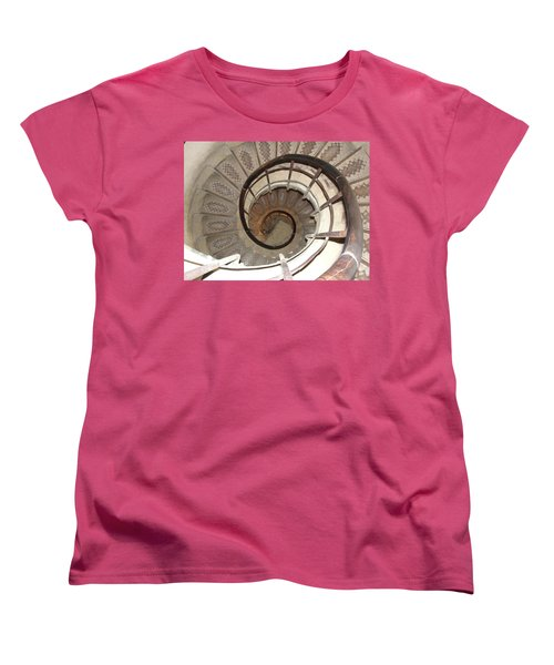Women's T-Shirt (Standard Cut) featuring the photograph Swirls by Tiffany Erdman