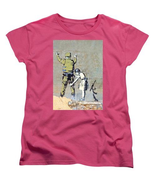 Switch Roles Women's T-Shirt (Standard Cut) by Munir Alawi