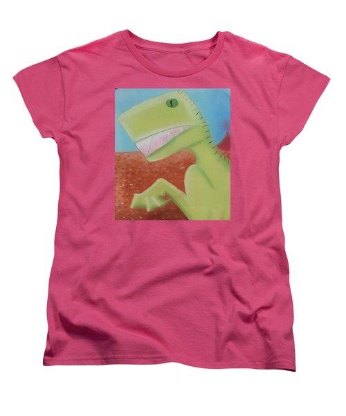 Dinoart Reptillian  Women's T-Shirt (Standard Cut)
