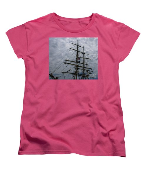 Sailing The Clouds Women's T-Shirt (Standard Cut) by Dale Powell