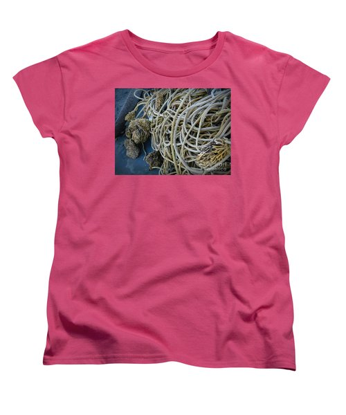Tangles Of Seaweed 2 Women's T-Shirt (Standard Cut) by Chalet Roome-Rigdon