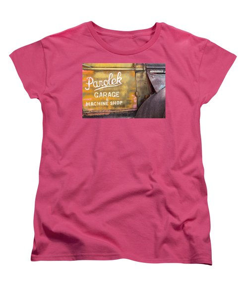 Women's T-Shirt (Standard Cut) featuring the photograph Taos Chevy by Steven Bateson