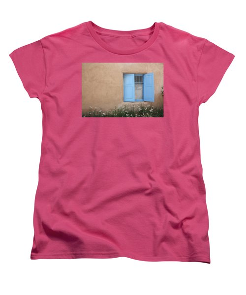 Taos Window Vi Women's T-Shirt (Standard Cut) by Lanita Williams