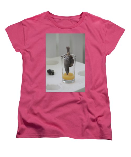 Tasty Juice Women's T-Shirt (Standard Cut) by Catie Canetti