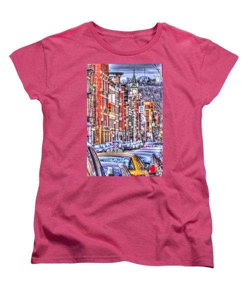Taxi Women's T-Shirt (Standard Cut) by Daniel Sheldon