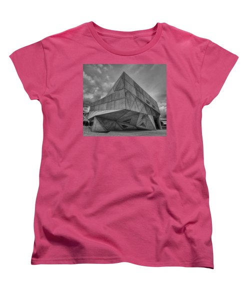 Women's T-Shirt (Standard Cut) featuring the photograph Tel Aviv Museum  by Ron Shoshani
