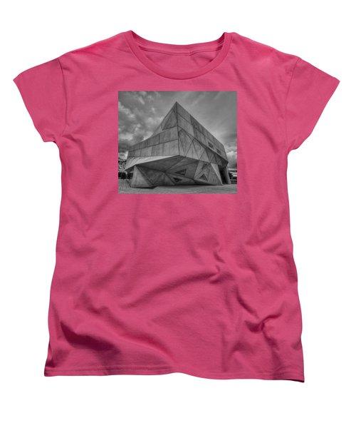 Women's T-Shirt (Standard Cut) featuring the photograph Tel Aviv Museum  by Ron Shoshani