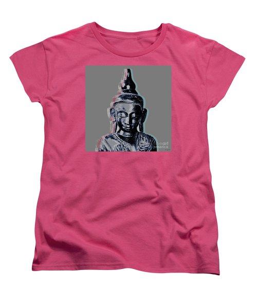 Thai Buddha #2 Women's T-Shirt (Standard Cut) by Jean luc Comperat