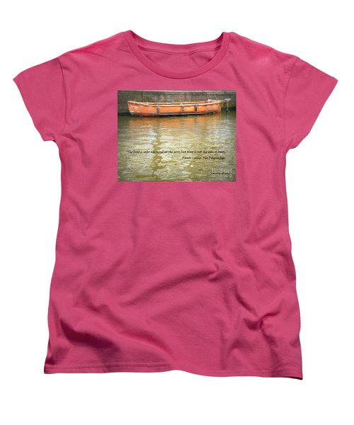 The Aim Of Boats Women's T-Shirt (Standard Cut) by Lainie Wrightson