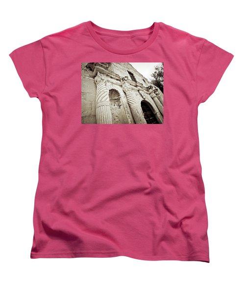 The Alamo Women's T-Shirt (Standard Cut) by Linda Unger