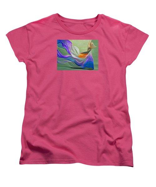 The Art Of Dance Women's T-Shirt (Standard Cut) by Nina Bradica
