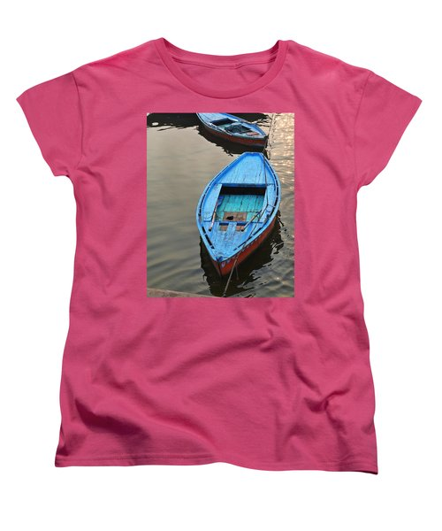 The Blue Boat Women's T-Shirt (Standard Cut)