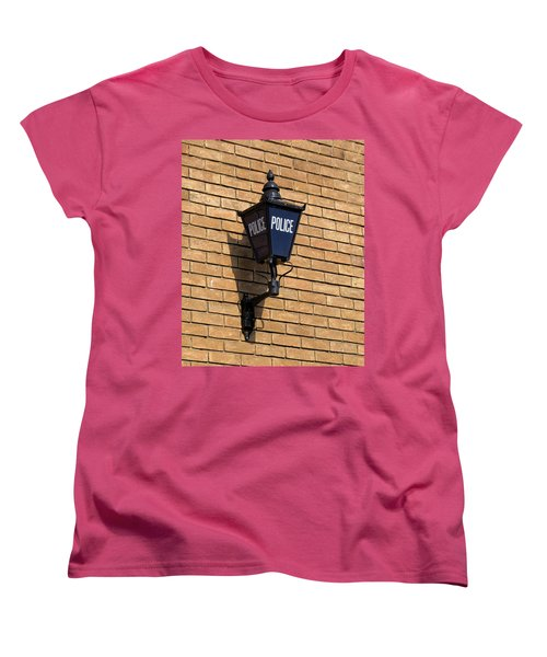 The Blue Lamp Women's T-Shirt (Standard Cut) by Ron Harpham
