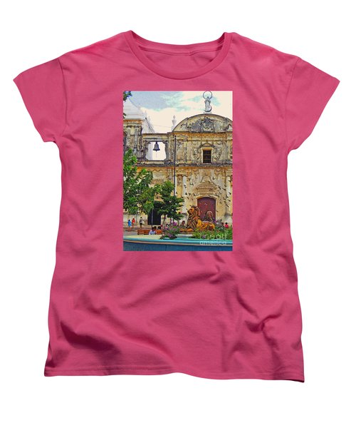 The Cathedral Of Leon Women's T-Shirt (Standard Cut) by Lydia Holly
