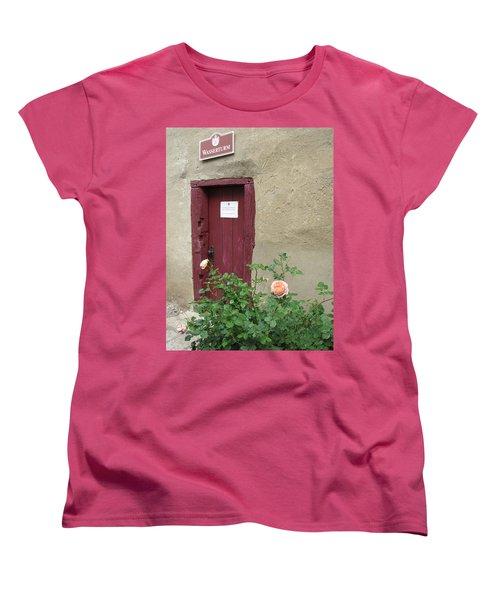 Women's T-Shirt (Standard Cut) featuring the photograph The Doorway by Pema Hou