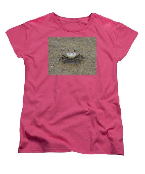 The Fiddler Crab On Hilton Head Island Women's T-Shirt (Standard Cut) by Kim Pate