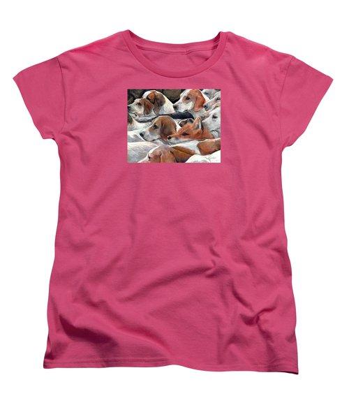 Fox Play Women's T-Shirt (Standard Cut) by Donna Tucker