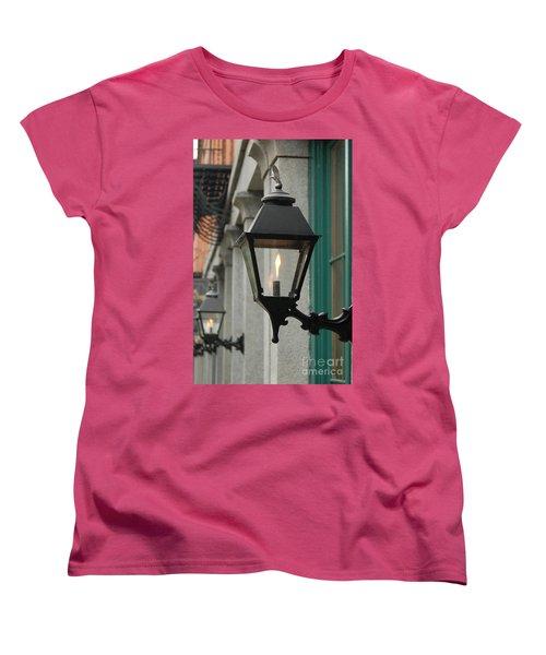Women's T-Shirt (Standard Cut) featuring the photograph The Gas Light by Patrick Shupert