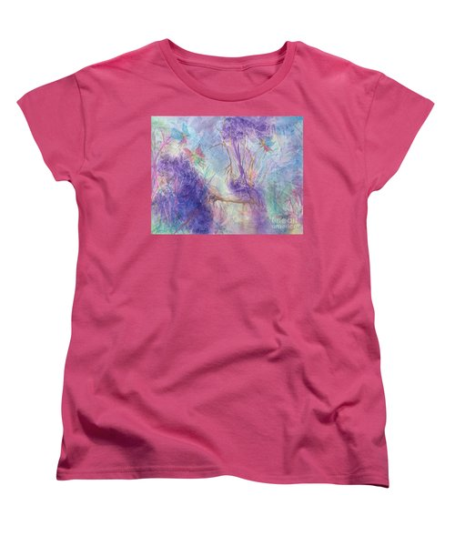 The Gathering Women's T-Shirt (Standard Cut) by Ellen Levinson