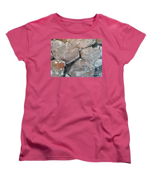 The Giant's Causeway Women's T-Shirt (Standard Cut) by Brenda Brown
