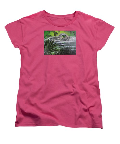 The Glades Women's T-Shirt (Standard Cut) by Dianna Lewis