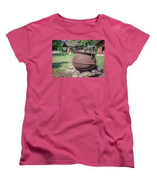 The Kettle Women's T-Shirt (Standard Cut) by Rob Sellers